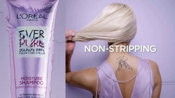 L'Oreal Paris EverPure Sulfate-Free Haircare TV Spot, 'Care for Color Treated Hair' - Thumbnail 7