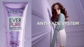 L'Oreal Paris EverPure Sulfate-Free Haircare TV Spot, 'Care for Color Treated Hair' - Thumbnail 8