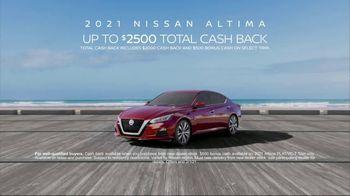 2021 Nissan Altima TV Spot, 'Parking Spot' Song by John Rowcroft, Tarek Modi [T2]