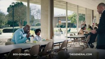 The General TV Spot, 'Lunchroom' Featuring Shaquille O'Neal - Thumbnail 1