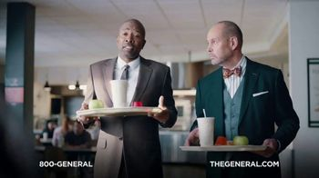 The General TV Spot, 'Lunchroom' Featuring Shaquille O'Neal - Thumbnail 4