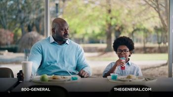 The General TV Spot, 'Lunchroom' Featuring Shaquille O'Neal - Thumbnail 8