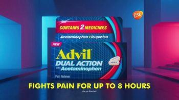 Advil Dual Action TV Spot, 'Advil Plus Acetaminophen' - Thumbnail 10