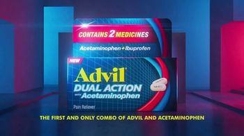 Advil Dual Action TV Spot, 'Advil Plus Acetaminophen'