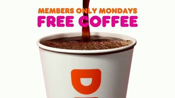Dunkin' TV Spot, 'Free Coffee Mondays' - Thumbnail 2