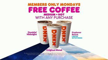 Dunkin' TV Spot, 'Free Coffee Mondays' - Thumbnail 5