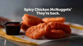 McDonald's Spicy Chicken McNuggets TV Spot, 'Are Perfectly Fire' - Thumbnail 9