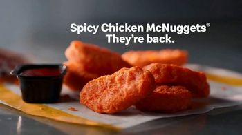 McDonald's Spicy Chicken McNuggets TV Spot, 'Mighty Hot Sauce: Extra Spicy Is Back' - Thumbnail 5
