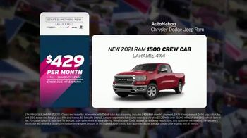 AutoNation Start Something New Sales Event TV Spot, 'Every Car Has a Story: 2021 Ram 1500 Crew Cab' - Thumbnail 4