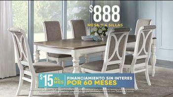 Rooms to Go La Venta por las Fiesta TV Spot, 'Juego de comedor' [Spanish] - Thumbnail 5