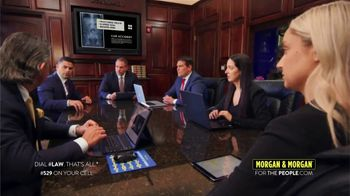 Morgan & Morgan Law Firm TV Spot, 'Don't Let Your Case Be Downplayed'