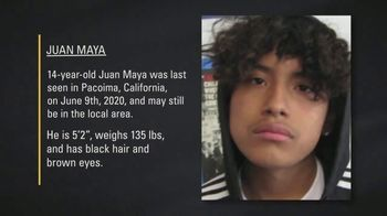 National Center for Missing & Exploited Children TV Spot, 'Juan Maya'