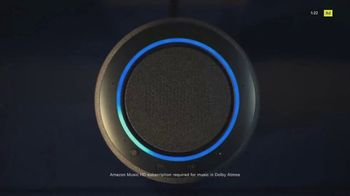Amazon Echo Studio TV Spot, 'Experience Immersive Dolby Atmos Sound' Song by Aluna