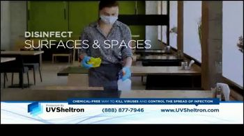 UVSheltron TV Spot, 'Disinfect' - Thumbnail 2