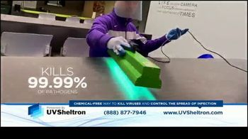 UVSheltron TV Spot, 'Disinfect' - Thumbnail 4