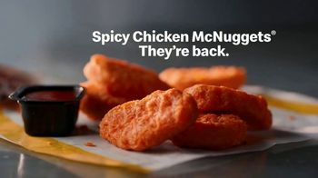 McDonald's Spicy Chicken McNuggets TV Spot, 'Reintroducing' - Thumbnail 10