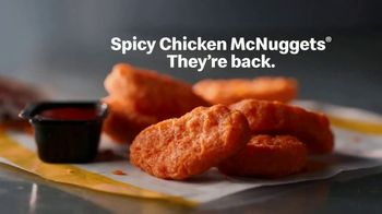 McDonald's Spicy Chicken McNuggets TV Spot, 'Reintroducing' - Thumbnail 9