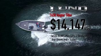Lund Boats 1650 Angler TV Spot, 'Ultimate Fishing Experience That Won't Break Your Budget'