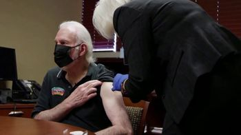NBA Cares TV Spot, 'Getting the Shot' Featuring Gregg Popovich - Thumbnail 6