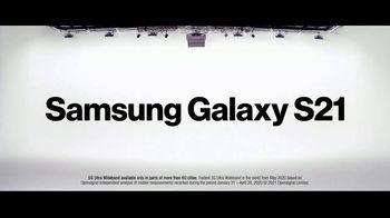 Verizon TV Spot, 'Ridiculously Fast: Samsung Galaxy S21+ 5G: Switch' - Thumbnail 4