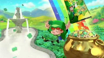 Lucky Charms Limited-Edition Original TV Spot, 'St. Patrick's Day: Green Milk' - Thumbnail 10