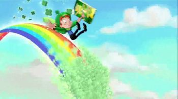 Lucky Charms Limited-Edition Original TV Spot, 'St. Patrick's Day: Green Milk' - Thumbnail 9