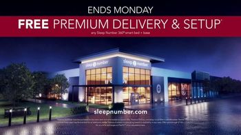 Sleep Number January Sale TV Spot, 'Weekend Special: Save $1,000 and Free Delivery' Ft. Travis Kelce - Thumbnail 8
