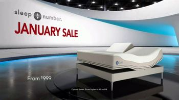 Sleep Number January Sale TV Spot, 'Weekend Special: Save $1,000 and Free Delivery' Ft. Travis Kelce - Thumbnail 1