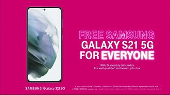 T-Mobile TV Spot, 'Free Samsung Galaxy S21 5G for Everyone' - Thumbnail 10