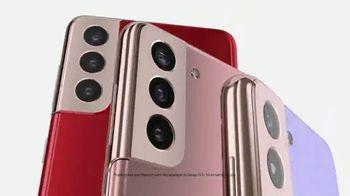 Samsung Galaxy S21 5G TV Spot, 'Meet the New Face of Galaxy' - Thumbnail 6