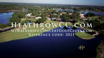 Heathrow Country Club TV Spot, 'Welcoming Country Club Experience' - Thumbnail 9