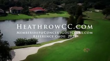 Heathrow Country Club TV Spot, 'Welcoming Country Club Experience' - Thumbnail 8