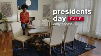 Ashley HomeStore Presidents Day Early Access Sale TV Spot, 'BOGO 50% Off: Sofa and Loveseat' - Thumbnail 2