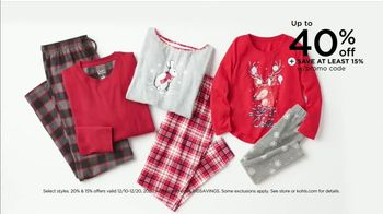 Kohl's TV Spot, 'Holiday Gifts: Smart Home, Sleepwear & Fleece' - Thumbnail 5