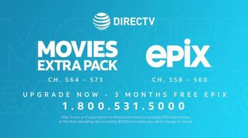 DIRECTV TV Spot, 'Epix and Movies Extra Pack: Something to See' - Thumbnail 8