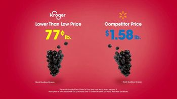 The Kroger Company TV Spot, 'Low: Grapes, Ham and Dr Pepper' Song by Flo Rida - Thumbnail 6