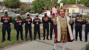 Burger King 2 for $5 Mix n' Match TV Spot, 'Holiday Joy Delivered: $1 Delivery, $5 Minimum'