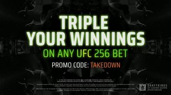 DraftKings at Casino Queen Sportsbook TV Spot, 'UFC 256: Octagon Opportunity' - Thumbnail 9