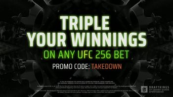 DraftKings at Casino Queen Sportsbook TV Spot, 'UFC 256: Octagon Opportunity' - Thumbnail 8