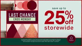 Ashley HomeStore Black Friday Sale TV Spot, 'Final Days: 25% or Special Financing and Appointments' - Thumbnail 3