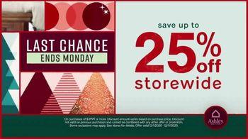Ashley HomeStore Black Friday Sale TV Spot, 'Final Days: 25% or Special Financing and Appointments' - Thumbnail 4
