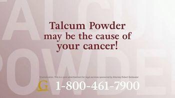 Goldwater Law Firm TV Spot, 'Talcum Powder Products' - Thumbnail 2