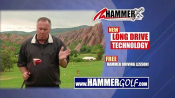 Hammer-X Driver TV Spot, 'Free Hammer Driving Lesson With Purchase' - 182 commercial airings