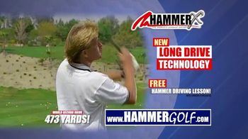 Hammer-X Driver TV Spot, 'Free Hammer Driving Lesson With Purchase' - Thumbnail 3
