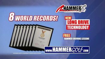 Hammer-X Driver TV Spot, 'Free Hammer Driving Lesson With Purchase' - Thumbnail 4