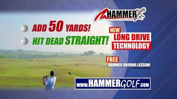 Hammer-X Driver TV Spot, 'Free Hammer Driving Lesson With Purchase' - Thumbnail 5