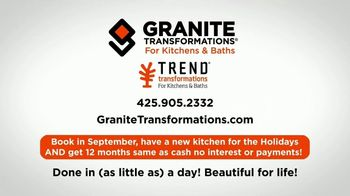 Granite Transformations TV Spot, 'Visit My Friends: Holidays' - Thumbnail 9