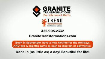 Granite Transformations TV Spot, 'Renovating: Holidays' - Thumbnail 10