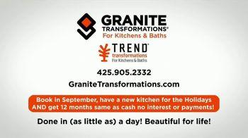 Granite Transformations TV Spot, 'Renovating: Holidays' - Thumbnail 9