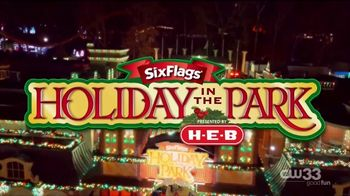 Six Flags Holiday in the Park TV Spot, 'The Spirit of the Season' - Thumbnail 2